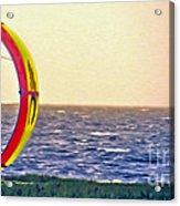 Kite Boarder 2 Acrylic Print