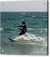 Kite Boarding Fun  Acrylic Print
