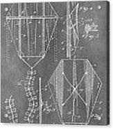 Kite Patent Acrylic Print