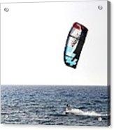 Kiteboarding Acrylic Print