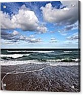 Kitty Hawk Surf Acrylic Print