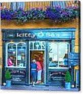 Kitty's In Kinsale Ireland Acrylic Print