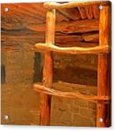 Kiva Ladder Acrylic Print
