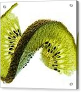 Kiwi With A Twist Acrylic Print