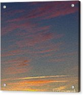 Klamath Summer Sunset Acrylic Print
