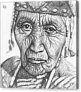 Klamath Woman Acrylic Print