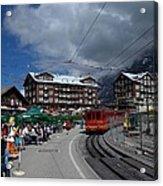 Kleine Schedegg Switzerland Acrylic Print
