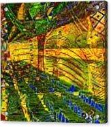 Klimt Covetous Acrylic Print
