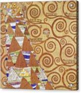 Klimt Expectation Acrylic Print