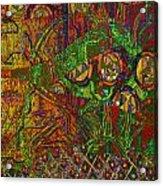 Klimt Honor Acrylic Print