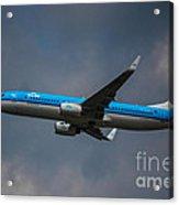 Klm Boeing 737 Ng Acrylic Print