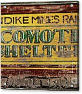 Klondike Mines Railway Acrylic Print