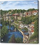 Knaresborough Yorkshire Acrylic Print