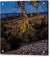 Kneeland Moonrise Acrylic Print