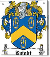 Knight Coat Of Arms Dublin Acrylic Print