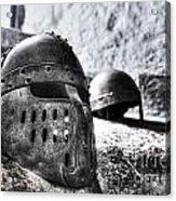 Knight Helmet Acrylic Print