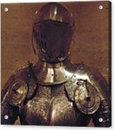 Knight In Shining Armor Acrylic Print