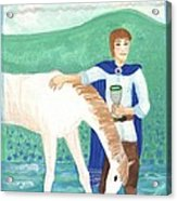 Knight Of Cups Acrylic Print