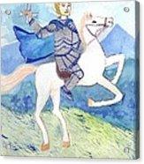 Knight Of Swords Acrylic Print