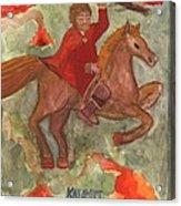 Knight Of Wands Acrylic Print