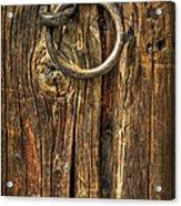 Knock On Wood Acrylic Print