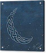 The Knotty Moon Acrylic Print