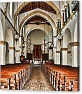 Knowles Memorial Chapel Rollins College 2 By Diana Sainz Acrylic Print