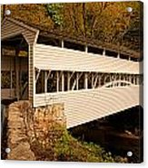 Knox Bridge In Autumn Acrylic Print