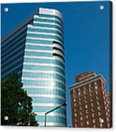 Knoxville Buildings Acrylic Print