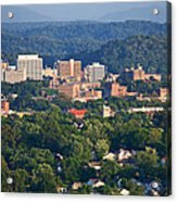 Knoxville Skyline In Summer Acrylic Print