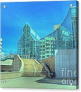 Knoxvillle Tn Convention Center Acrylic Print