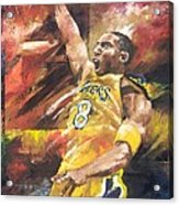 Kobe Bryant  Acrylic Print by Christiaan Bekker