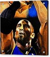 Kobe Bryant Drawing Acrylic Print