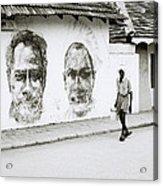 Kochi Urban Art Acrylic Print