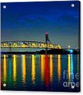 Kodachrome Bridge Acrylic Print