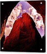 Kodachrome Cave Acrylic Print