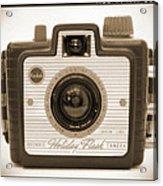 Kodak Brownie Holiday Flash Acrylic Print