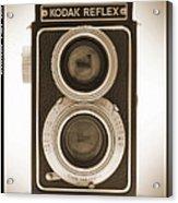 Kodak Reflex Camera Acrylic Print