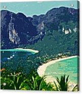 Koh Phi Phi ... Acrylic Print