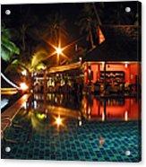 Koh Samui Beach Resort Acrylic Print
