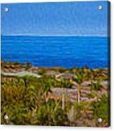 Kohala Coast Panorama Acrylic Print