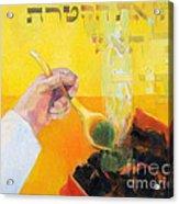 Kohen Gadol On Yom Kippur Acrylic Print