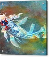 Koi Fantasy Acrylic Print