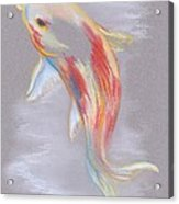 Koi Fish Swimming Acrylic Print by MM Anderson