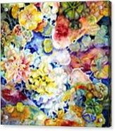 Koi Garden Acrylic Print