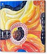 Koi Guitar Acrylic Print