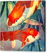Koi Love Acrylic Print