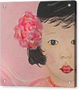 Kokoa Little Angel For Love Of The Heart Acrylic Print