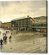 Koln Hauptbahnhof  Acrylic Print