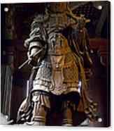 Komokuten Guardian King - Nara Japan Acrylic Print